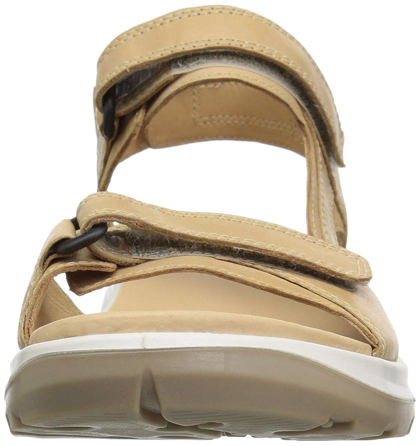 7fc6b636a394 ECCO Womens Yucatan Sandal Fabric Low Top Walking Shoes