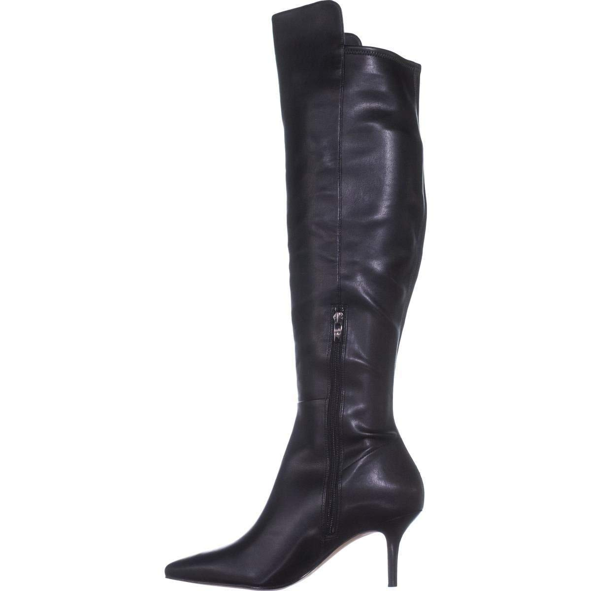 1a14d2dcda Details about Marc Fisher Womens Adana Leather Pointed Toe Over Knee  Fashion Boots