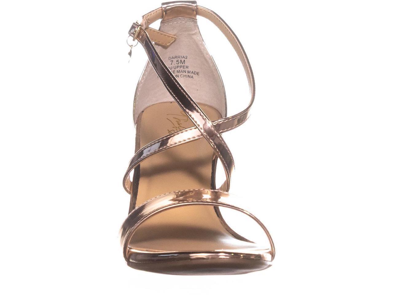 Thalia Sodi Womens Darria2 Open Toe Ankle Strap Classic