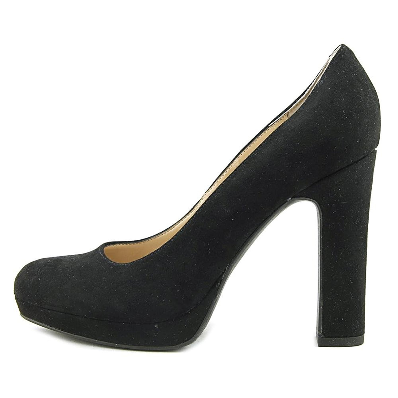 Unisa Womens UNBARTAN2 Fabric Closed Toe Classic Pumps Black Size 6.5