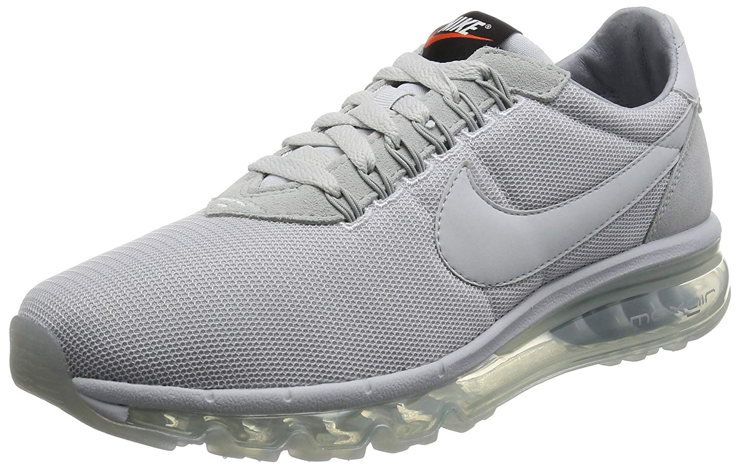 purchase cheap b8083 872bd Nike Mens Air Max Zero Essential Low Top Lace Up Running, White, Size 10.0  j9p1