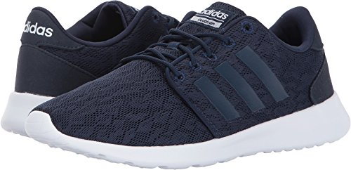 Adidas Womens racer Fabric Low Top Lace Up Running Sneaker