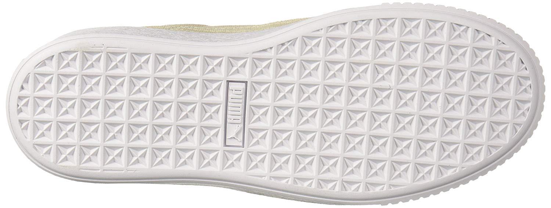 Details about Puma Womens Basket Platform Canvas Low Top Lace Up Fashion Sneakers