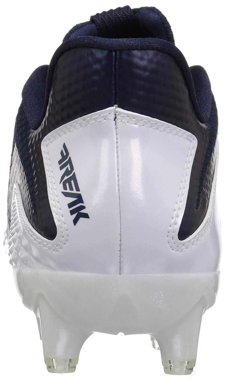 adidas Hombres Freak X Carbon Low & Mid Tops Schnuersenkel Fussball Sneaker Weiss Groesse 16 Us /
