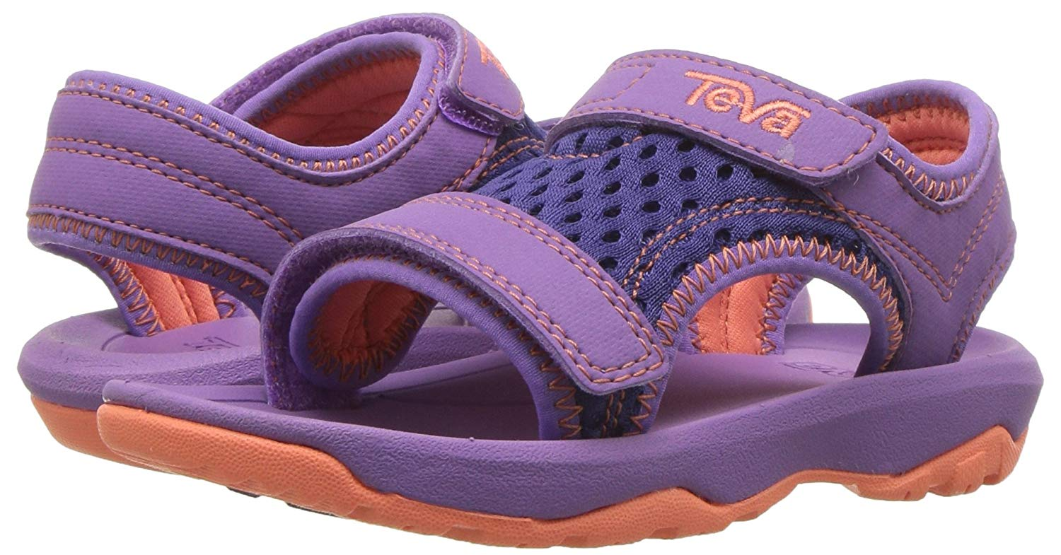 893929e01fb5 Details about Kids Teva Girls Psyclone Buckle Ankle Strap