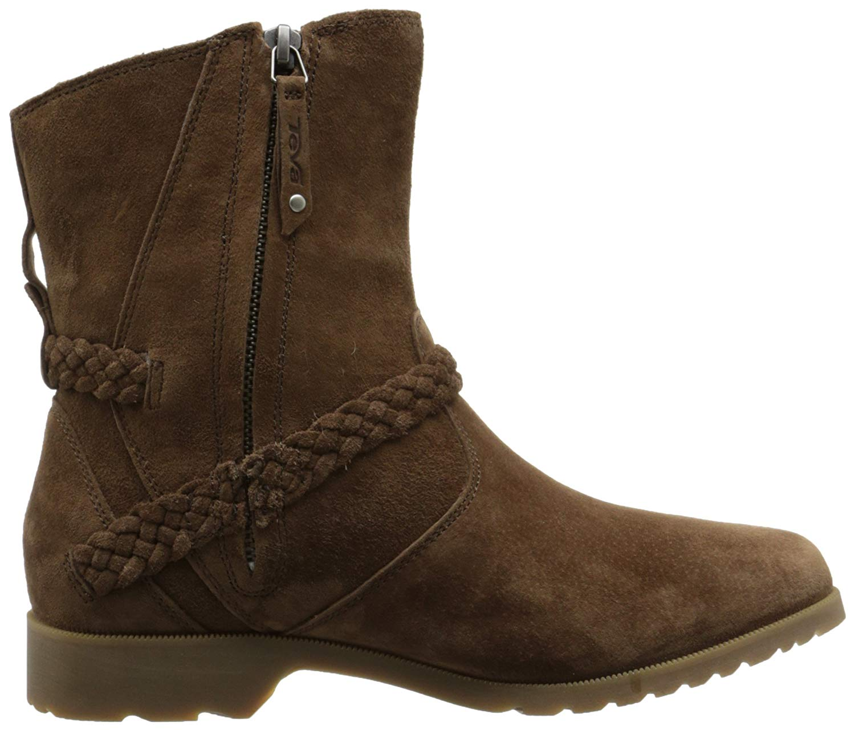 Uk Boots E0ss 6 Us 4 Womens Taupe Desert Delvavina Teva qEza88