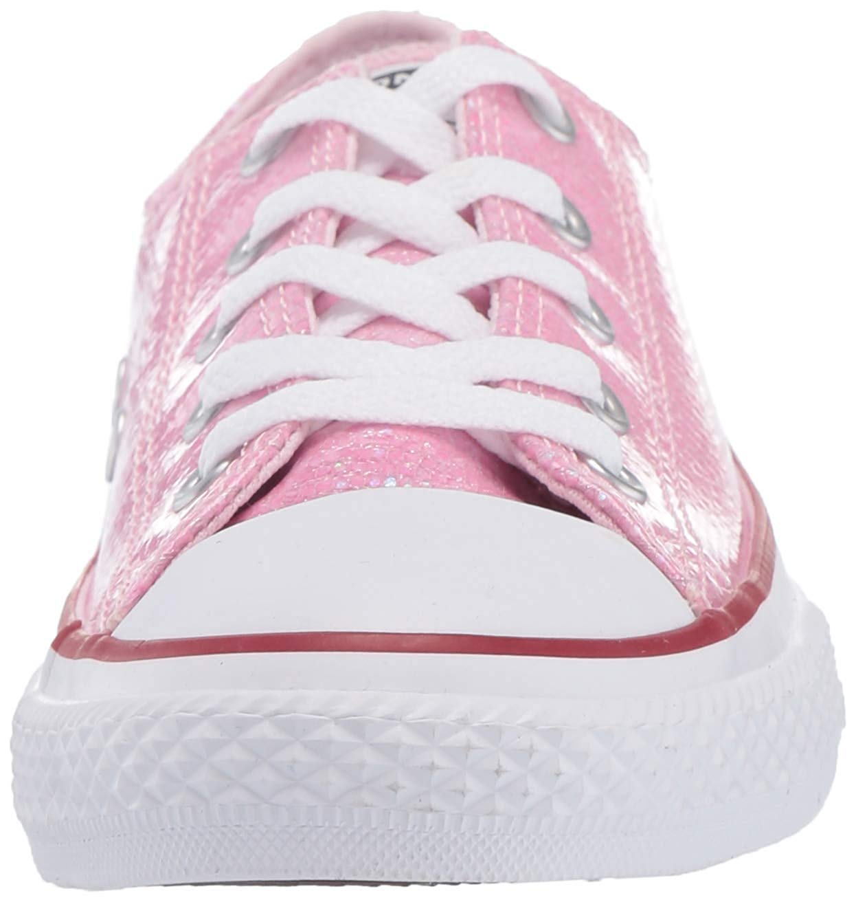 Details about Converse Kids' Chuck Taylor All Star Sport Sparkle Low Top, Pink, Size 12.5 3gto