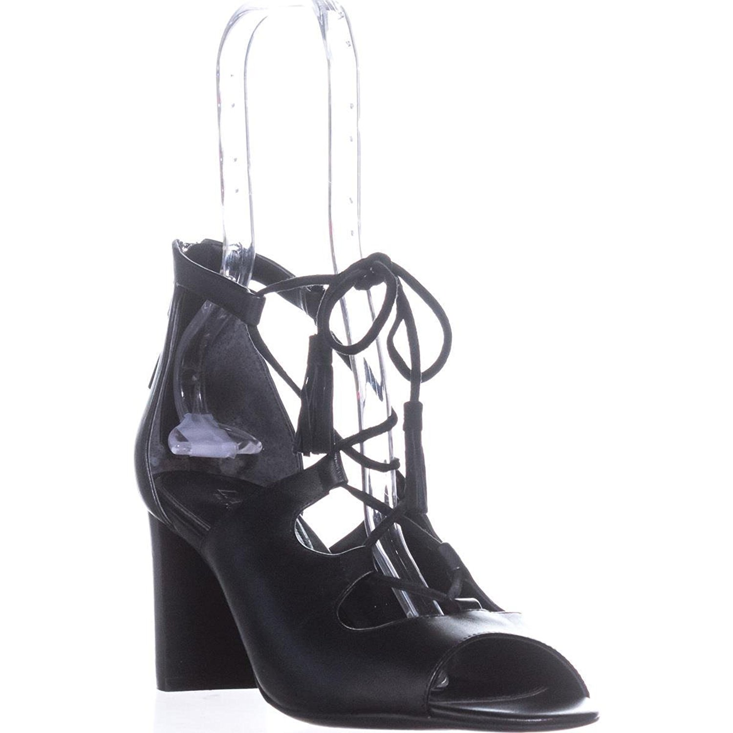 46b10f45a48 LAUREN by Ralph Lauren Womens Hasel Leather Open Toe Casual Strappy Sandals