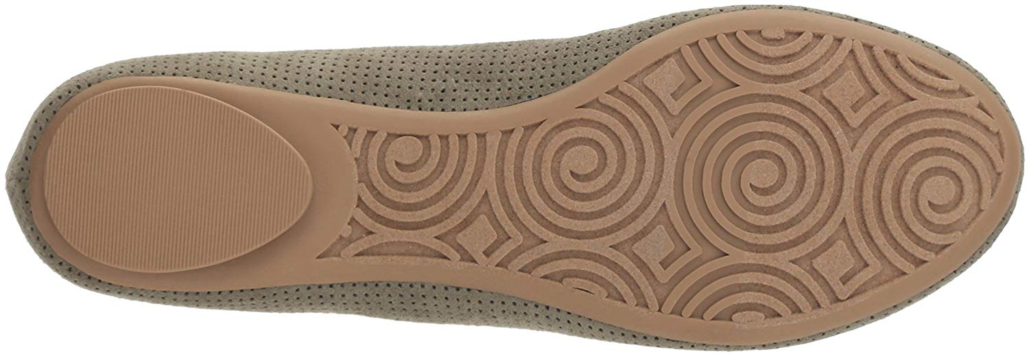7d0dd1ee005a Dr. Scholl's Shoes Womens Friendly2 Fabric Closed Toe Ballet Flats ...