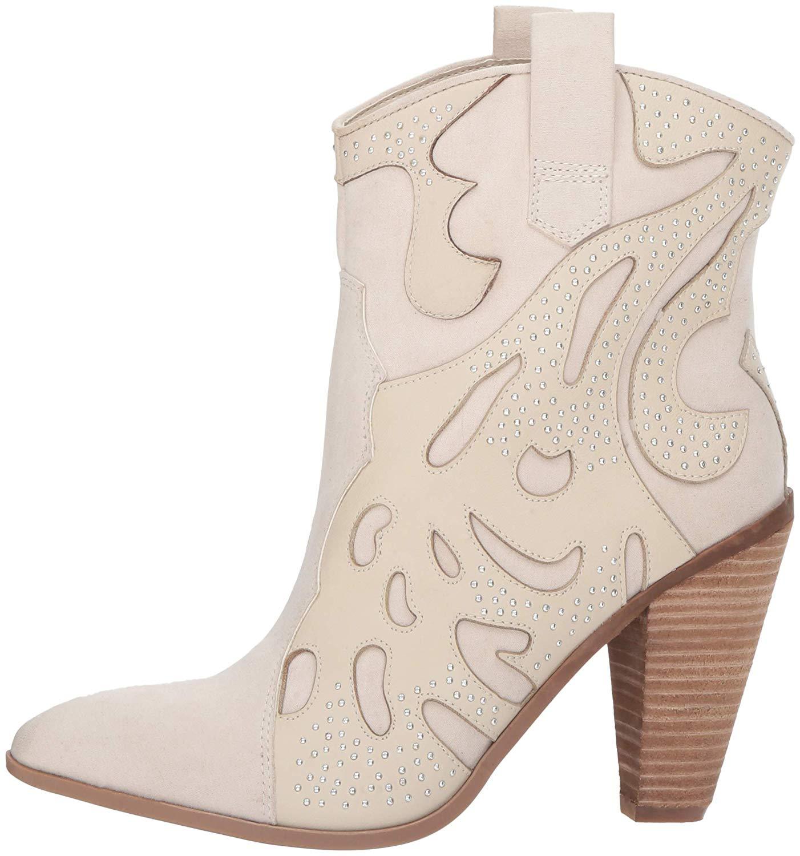 Carlos by Carlos Santana mujer Sterling Leather Pointed, Winter blanco, blanco, blanco, Talla 7.5  tienda de descuento