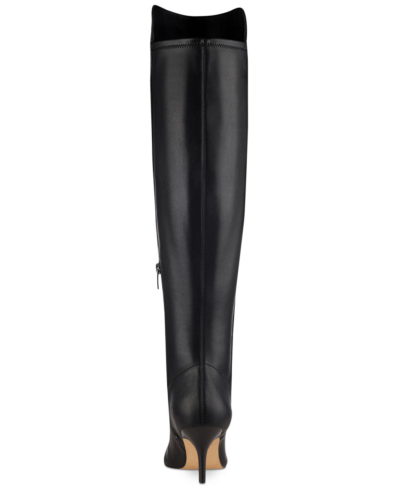 7bfb7847a1 Marc Fisher Womens Adana Pointed Toe Over Knee Fashion Boots | eBay