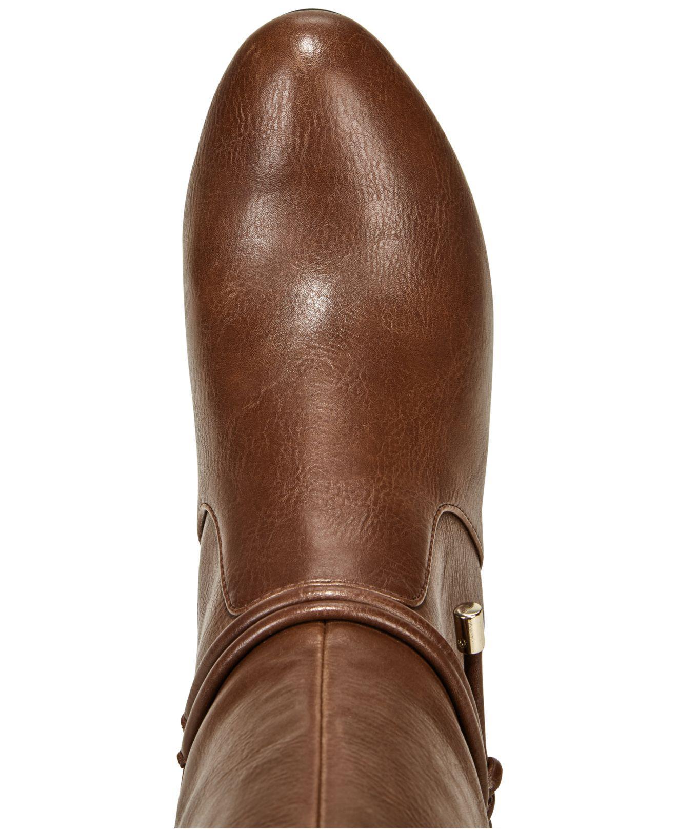 Alfani para mujer giliann cerrado Toe botas botas botas hasta la rodilla de moda 4314e4