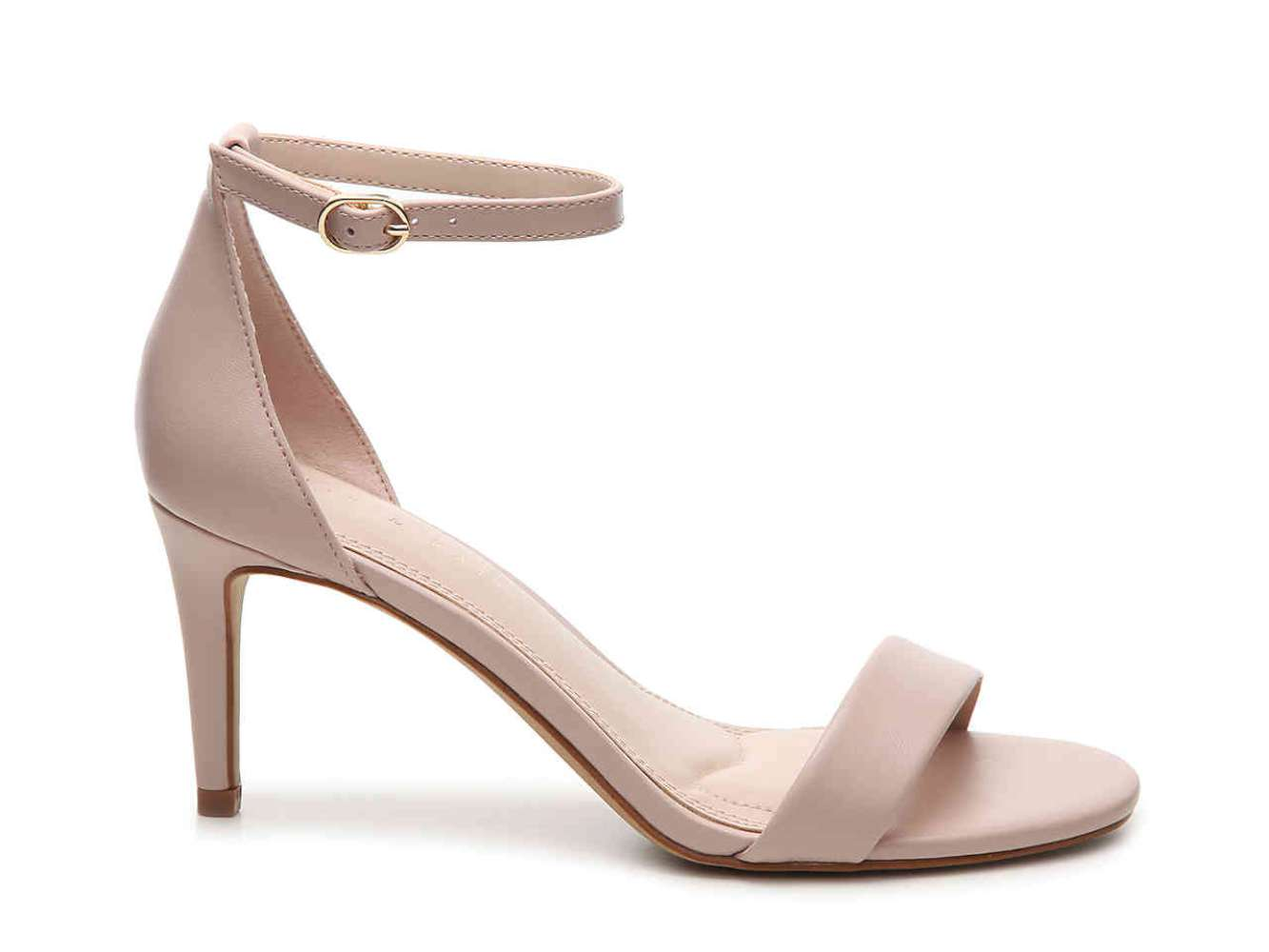 Kelly Katie Womens Kirstie Open Toe Ankle Strap Classic light pink Size 9.0
