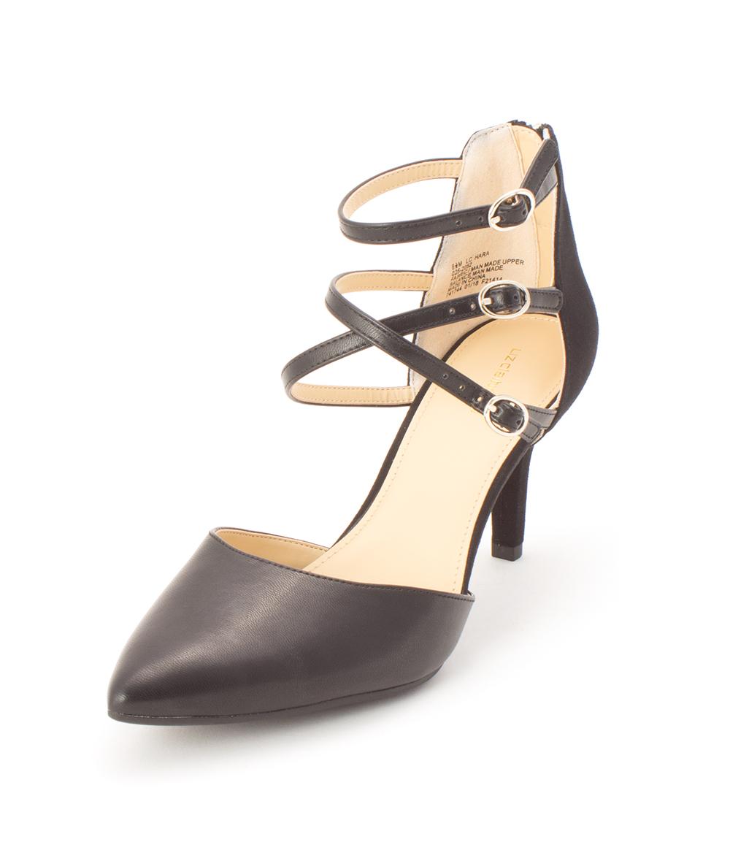a1f231a6f29 Liz Claiborne Womens Hara Closed Toe Ankle Strap Classic Pumps