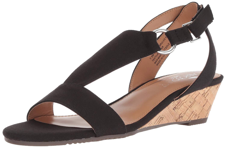 4eb0fc65b47e Aerosoles Women s Creme Brulee Wedge Sandal