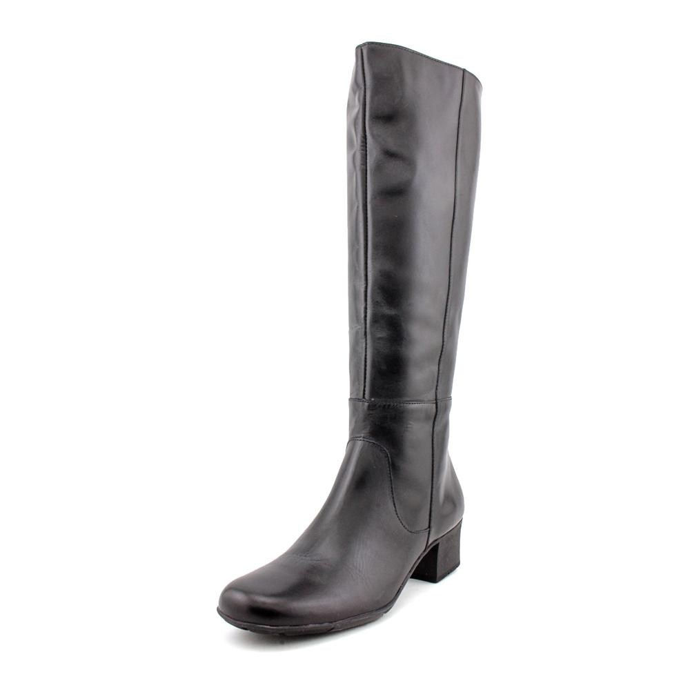 9149d88e581 Details about Walking Cradles Womens Elite Mix Closed Toe Knee High Fashion  Boots