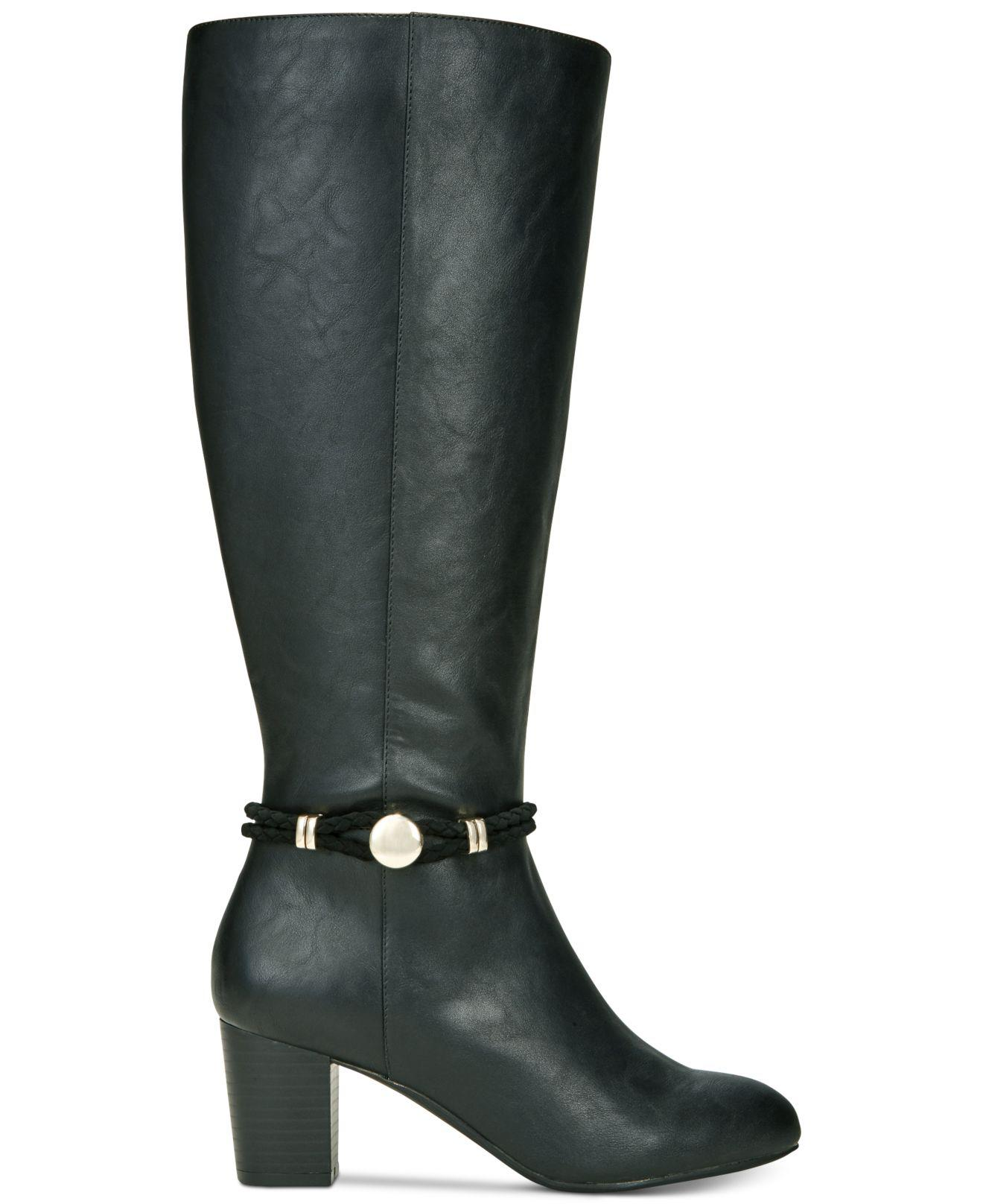 alti alla Toe donna di Karen Stivali Knee da Galee Almond Scott moda dqtff1x