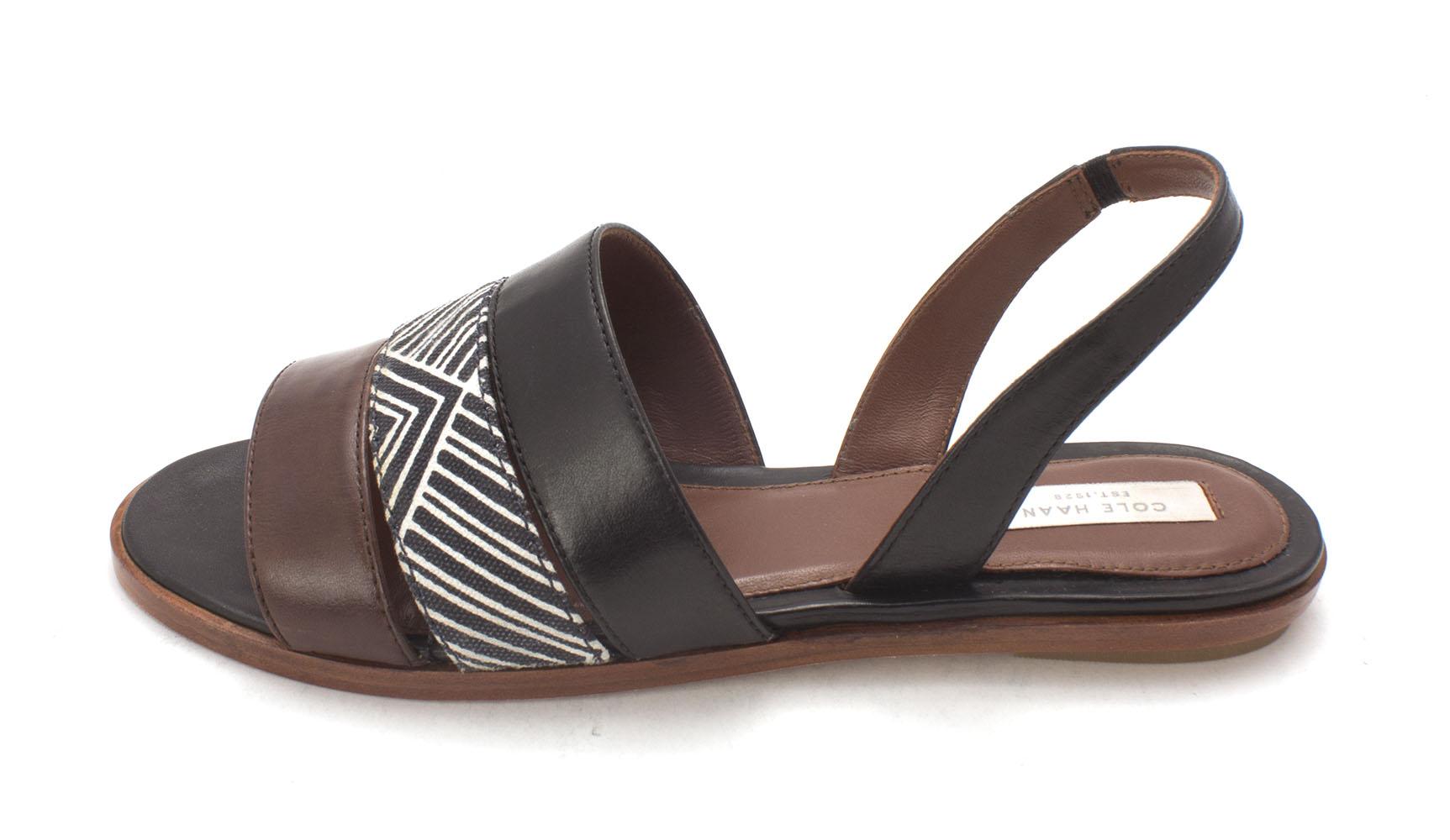 Cole Haan Womens Arabelasam Open Toe Casual Slingback MultiColor Size 60