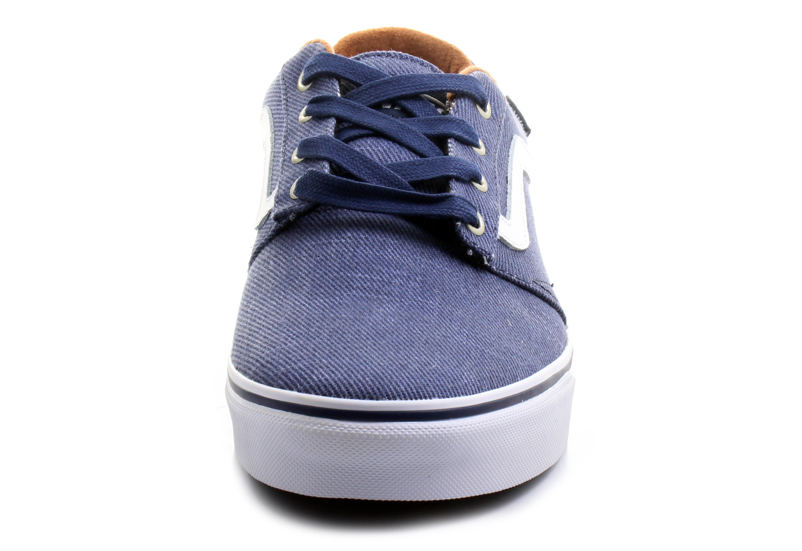 12c9479abe9 Vans Mens Chapman Canvas Low Top Lace Up Fashion Sneakers