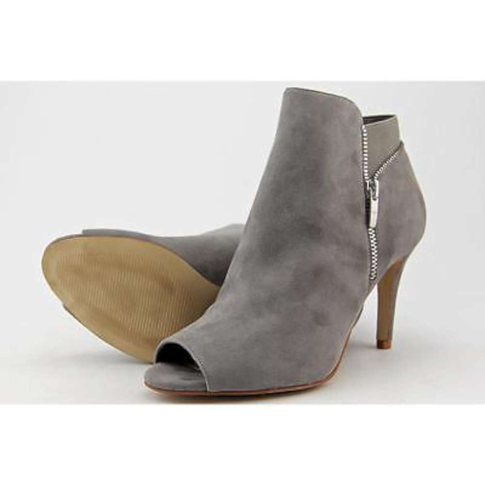 ... Picture 3 of 4 ... - Marc Fisher Women's Serenity Peep-toe Ankle Boot Grey Suede Size