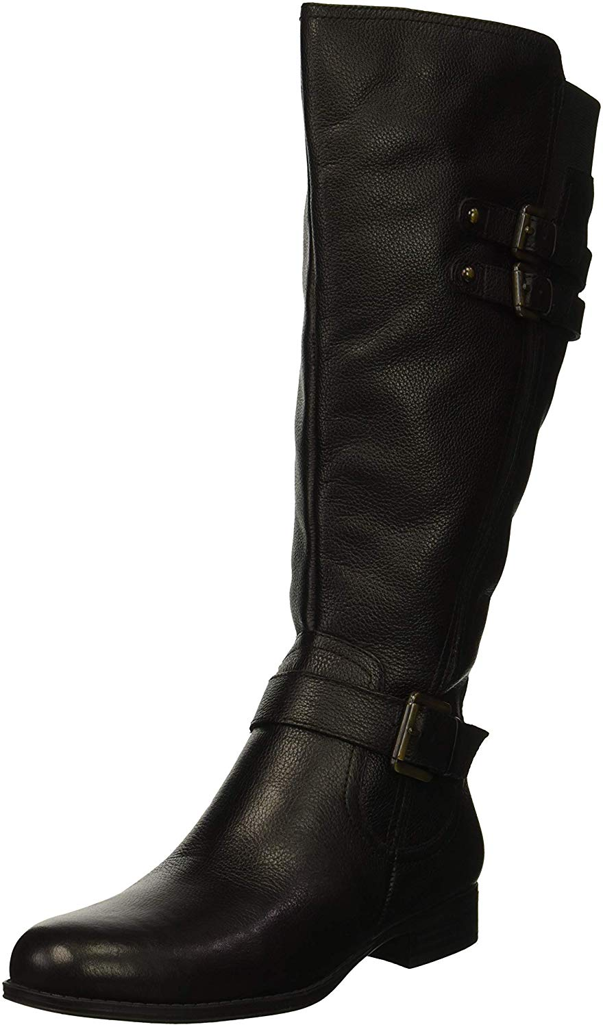 Naturalizer-Womens-Jessie-Closed-Toe-Over-Knee-Fashion-Boots-Black-Wc-Size-5-0