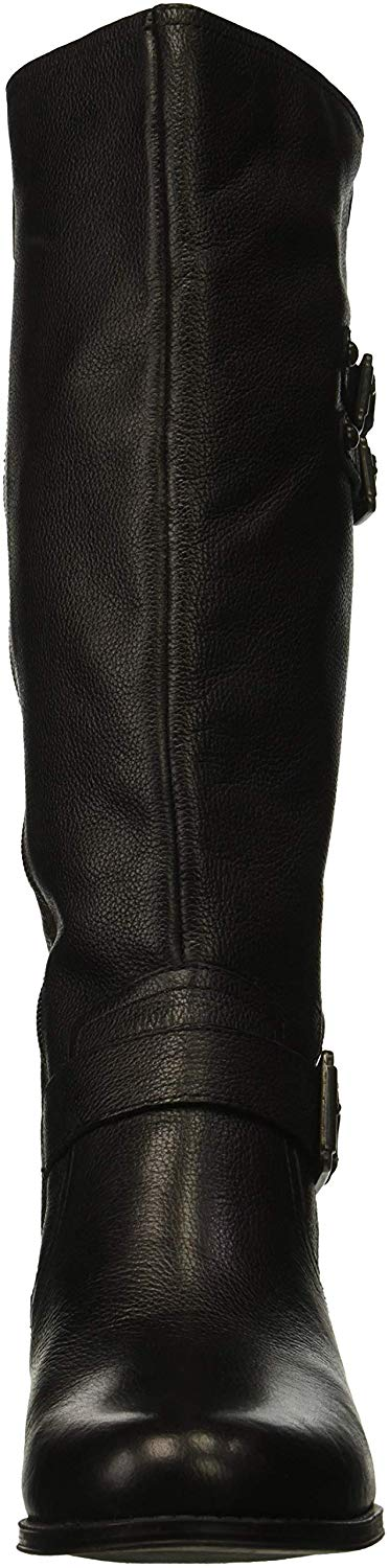 Naturalizer-Womens-Jessie-Closed-Toe-Over-Knee-Fashion-Boots-Black-Wc-Size-5-0 thumbnail 2