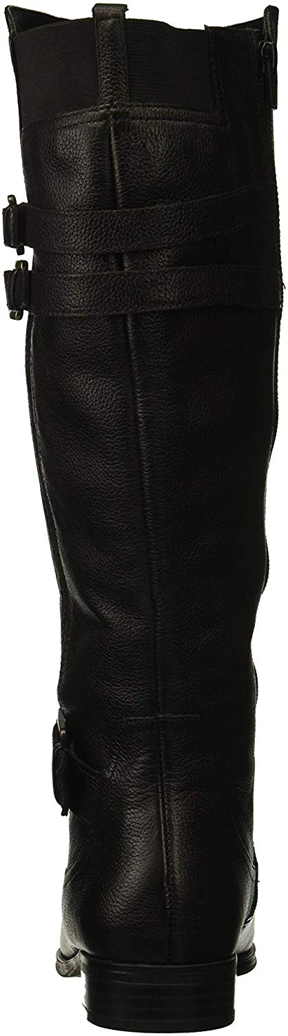 Naturalizer-Womens-Jessie-Closed-Toe-Over-Knee-Fashion-Boots-Black-Wc-Size-5-0 thumbnail 3