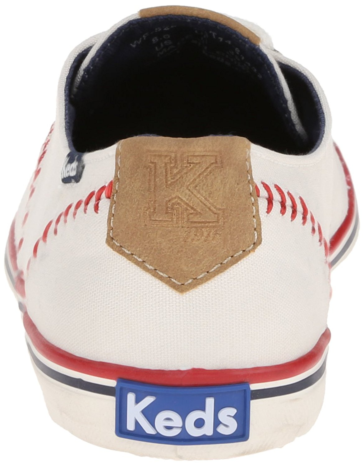 a6a37476c40bc Keds Womens Champion Pennant Fabric Low Top Lace Up Fashion Sneakers ...