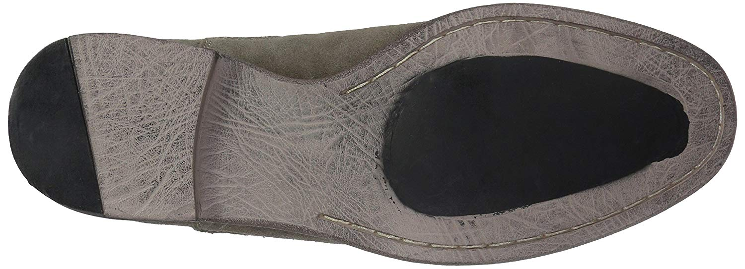 0d442726486 Details about RW by Robert Wayne Men's Delaware Chelsea Boot, Dark Taupe,  Size 8.0 3RQJ US / 7