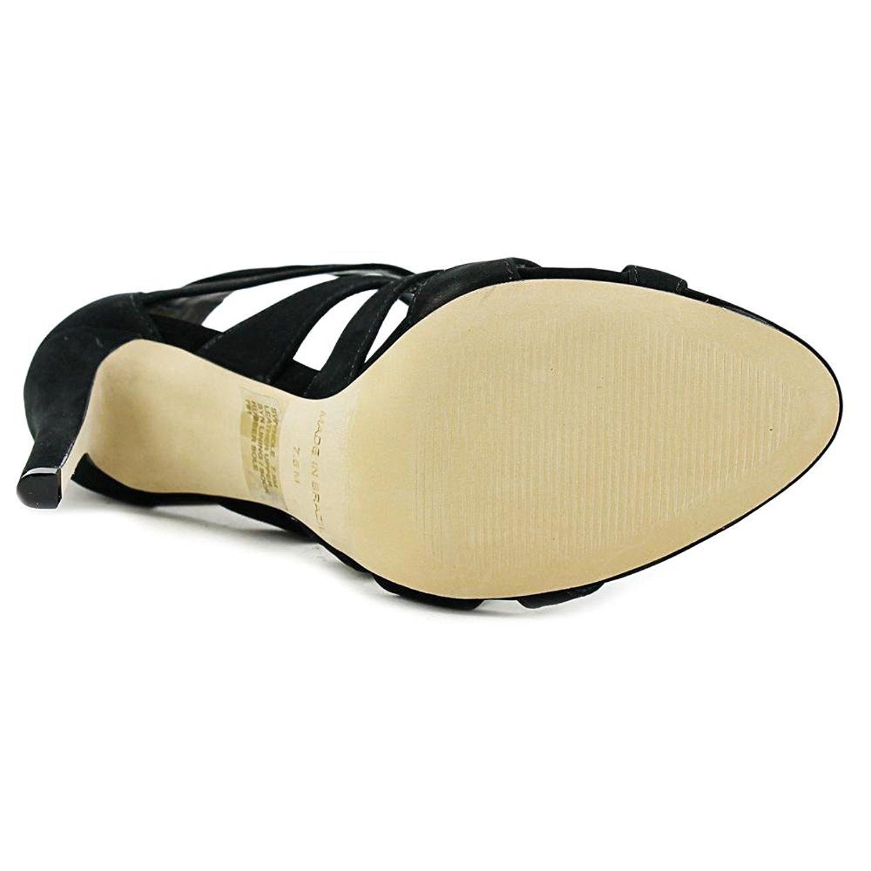 Steve Madden Madden Steve Damenschuhe Swyndlee Leder Open Toe Casual Strappy Sandales 421074