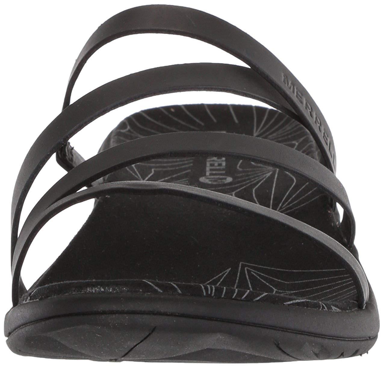722ffbfb3290 Merrell Women s Duskair Seaway Slide Leather Sandal