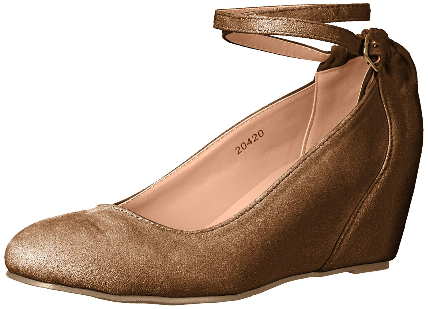 21674f99edd Details about Journee Collection Womens tibby Closed Toe Ankle Strap  D-orsay Pumps