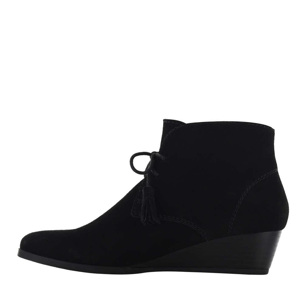 Crown vintage mujeres de Tami cerrada dedo del pie de mujeres cuero fashion botas negro groess f2aee6