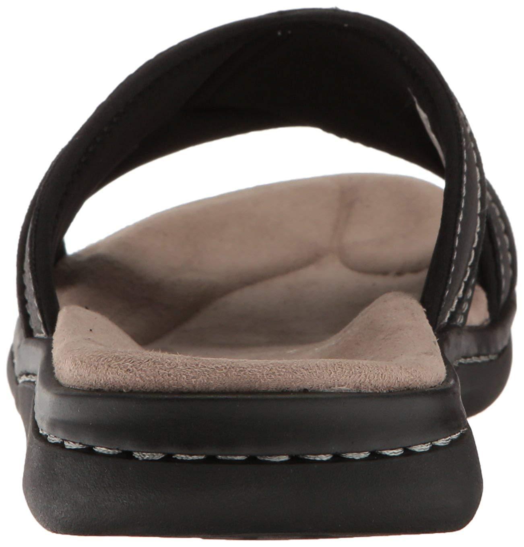 Dockers Men S Sunland Slide Sandal Black Size 11 0 Bqqa