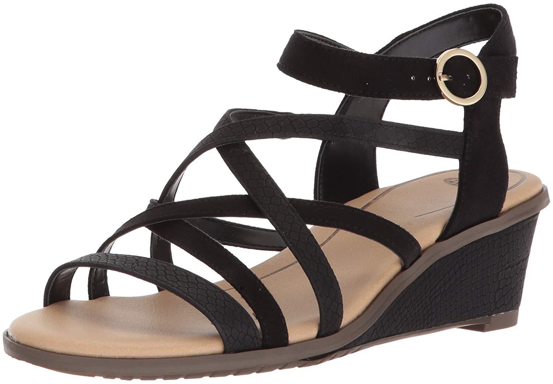2a2d06e0760 Dr. Scholl s Womens Gemini Open Toe Casual Platform Sandals