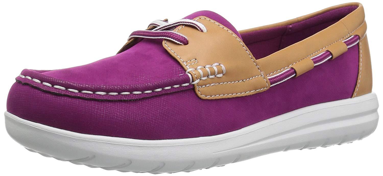 Clarks Mujer Zapatos Náuticos vista jocolin, MULTIColor, TAMAÑO 8.0