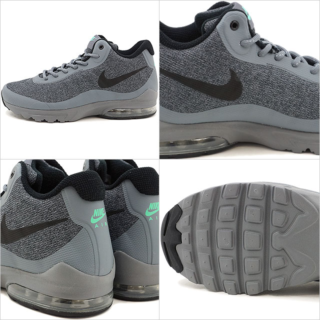 best loved b310f 9a00d Nike Mens Air Max Invigor Mid Low Top Lace Up Running Sneaker
