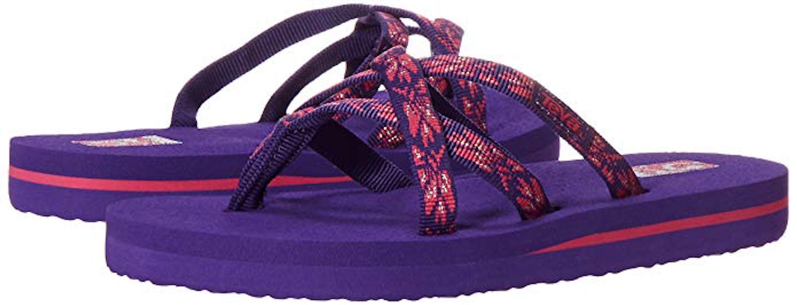 d8c00937ad83c7 Kids Teva Girls Olowahu Slip On Flip Flops