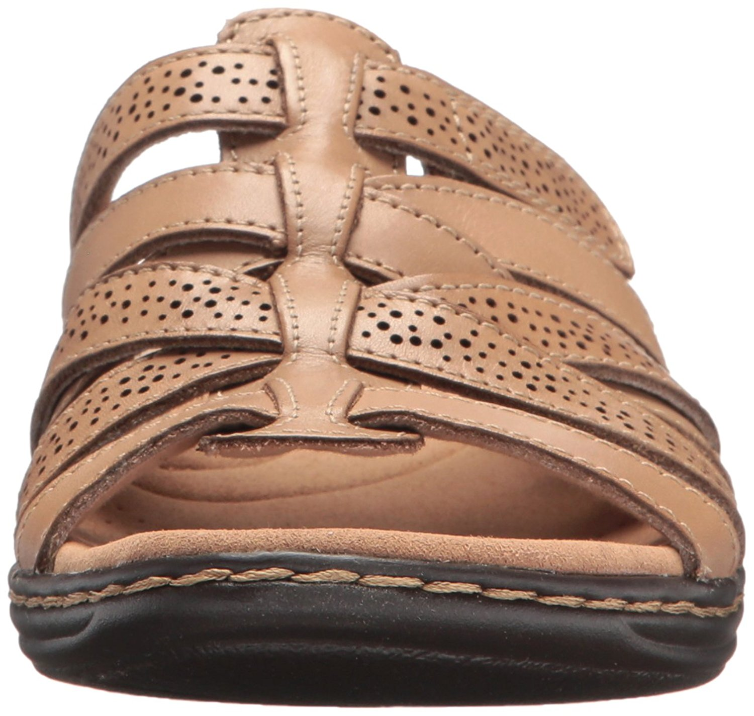 b25dfad6901a CLARKS Womens leisa fields Open Toe Casual Slide Sandals