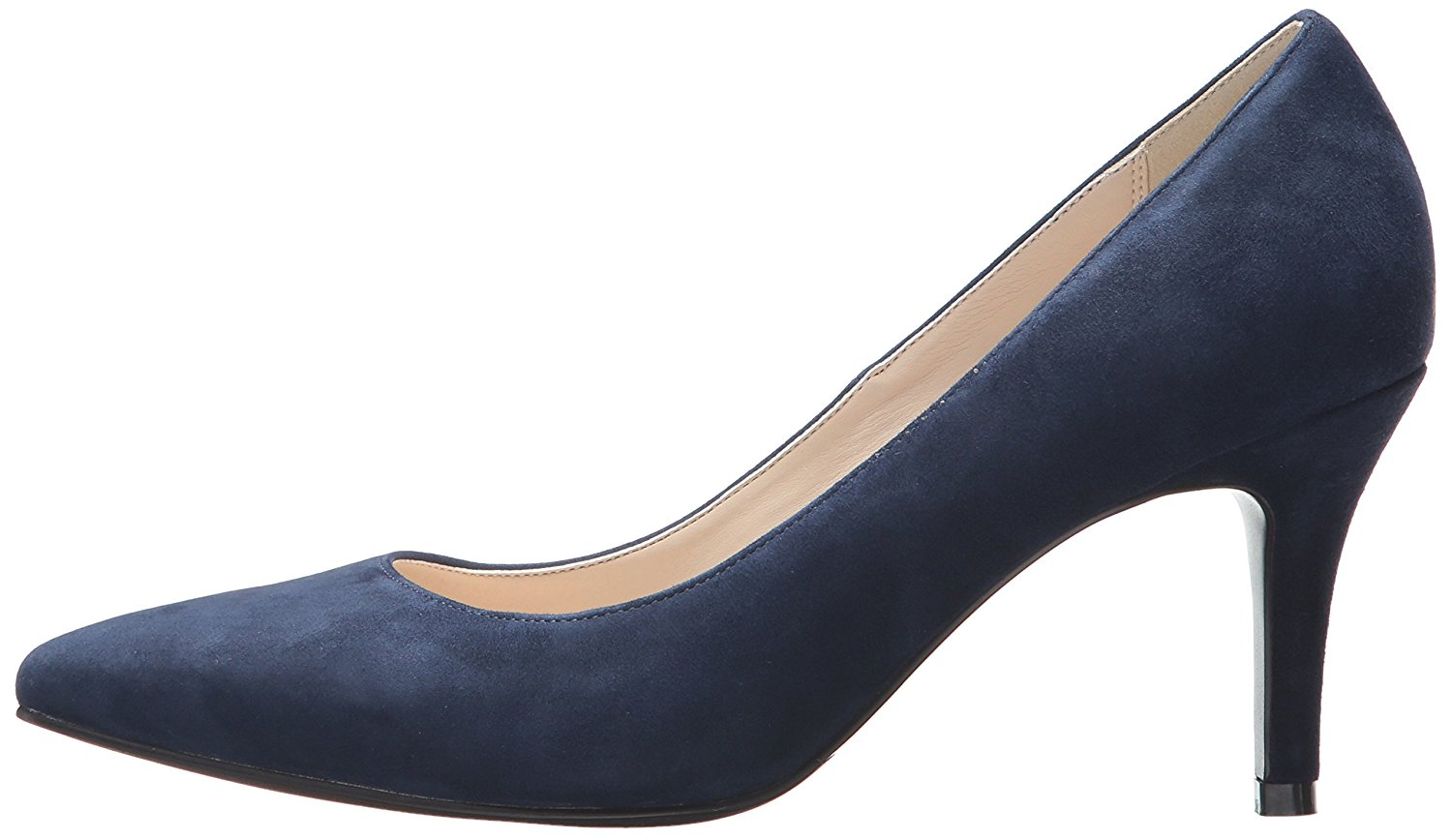 Cole Haan Womens Amelia Suede Pointed Toe Classic Blue/navy suede Size 8.5