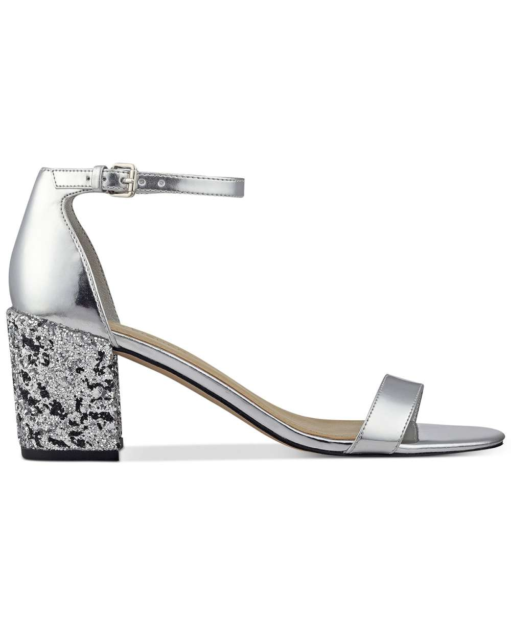 2fcd24ee4c0 Marc Fisher Womens Safia Open Toe Casual Ankle Strap