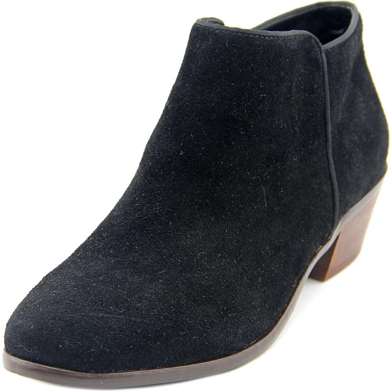 Crown Vintage Stiefel Frauen Tabitha Pumps rund Leder Fashion Stiefel Vintage Schwarz Groesse 9 3aee94