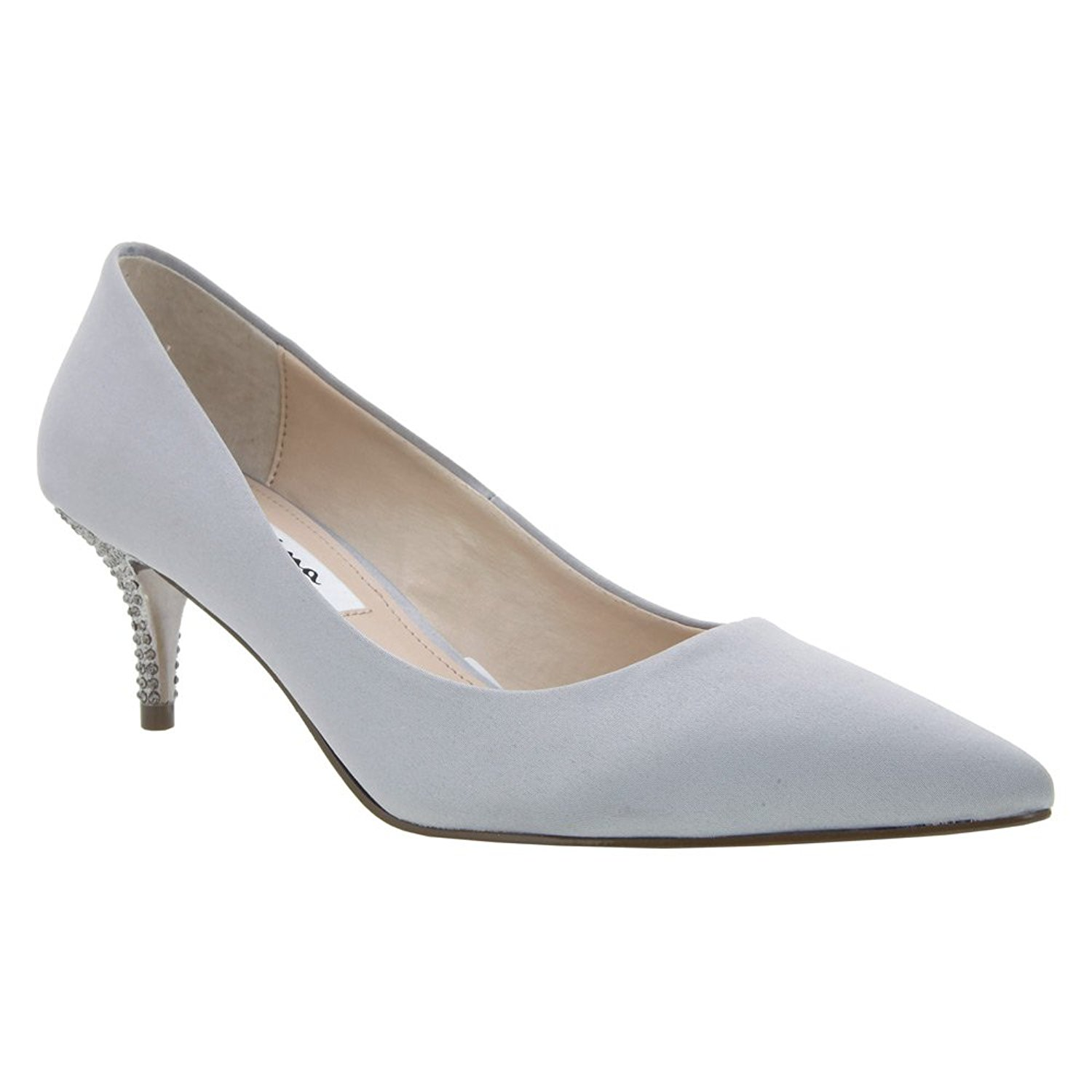 Nina Womens Teressa Pointed Toe Classic Pumps Champagne Size 11.0