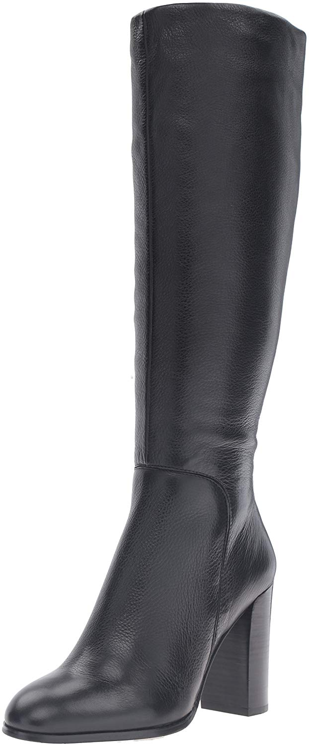 e820f37b2eb Details about Kenneth Cole New York Womens Justin Leather Closed Toe Knee  High Fashion Boots