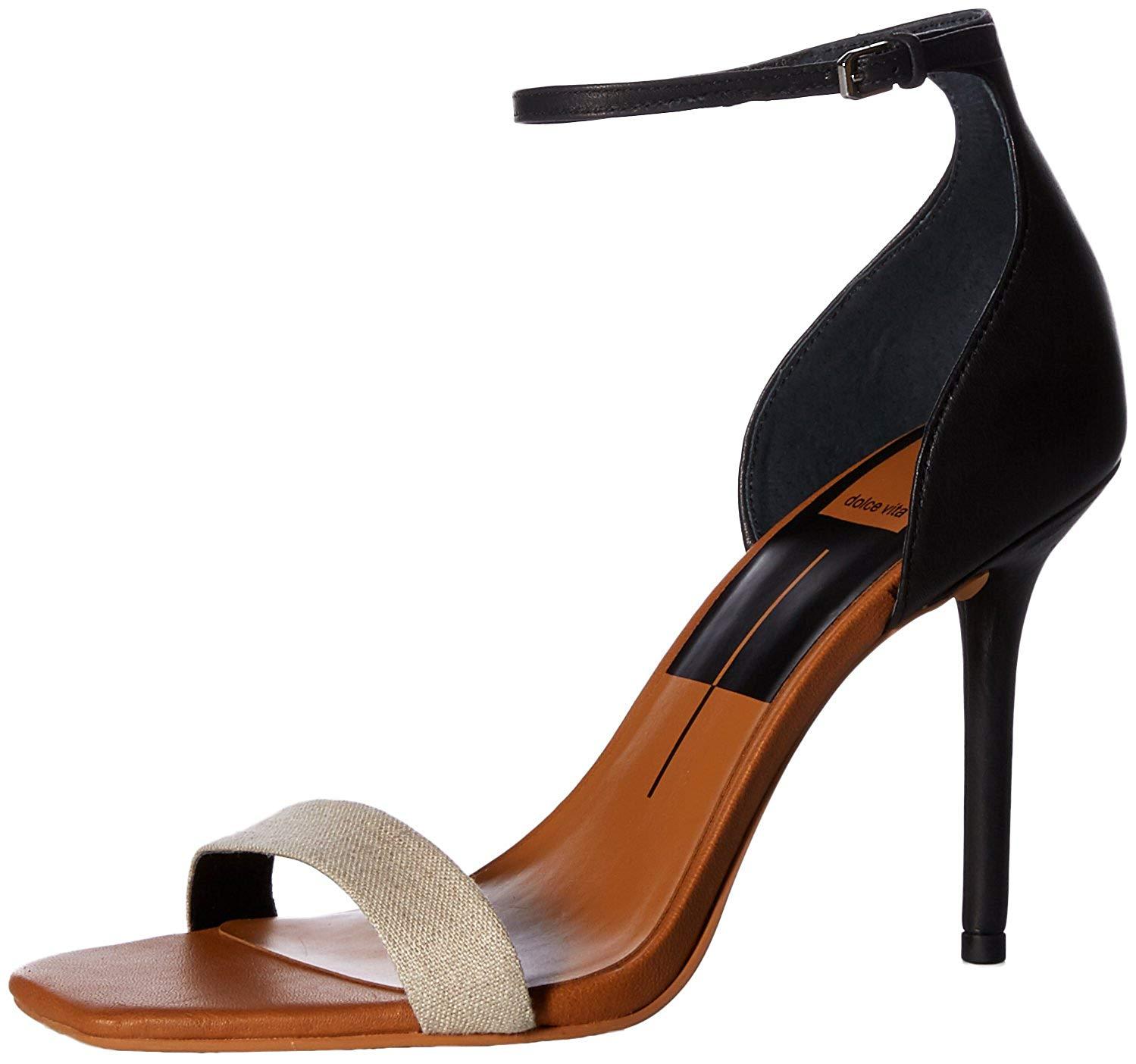 f37ce7e9ece8 Details about Dolce Vita Women s Halo Heeled Sandal
