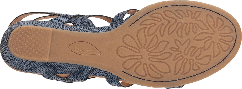 6d2864d01ab B.O.C Womens Heidi Open Toe Casual Platform Sandals