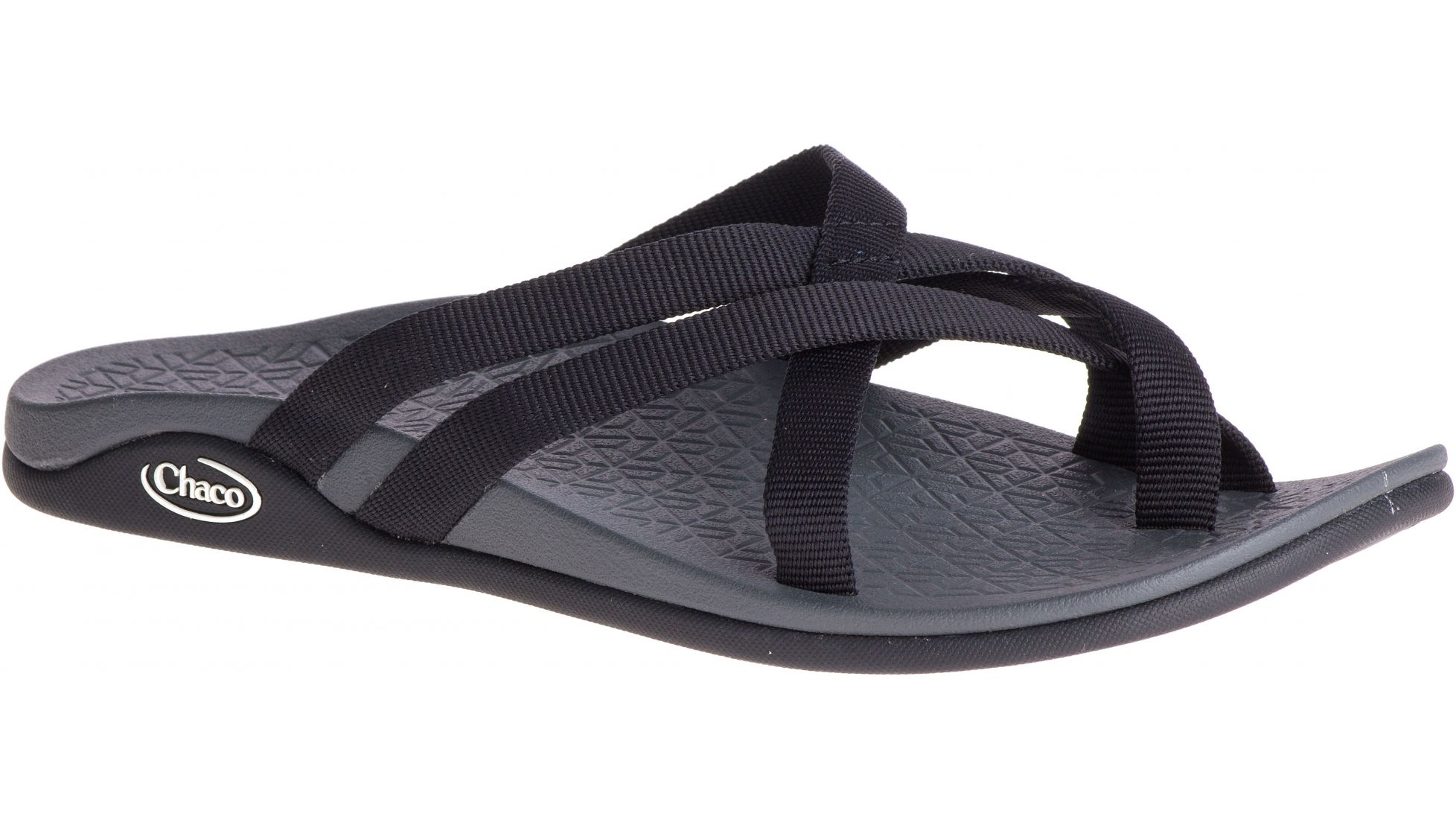 276f71984a1d Image is loading Chaco-Womens-Temest-Cloud-Open-Toe-Casual-Black-