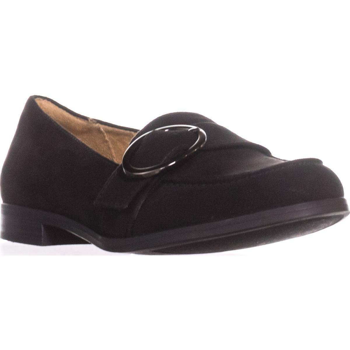 0efa5edbe6f Naturalizer Womens Mina Fabric Almond Toe Loafers