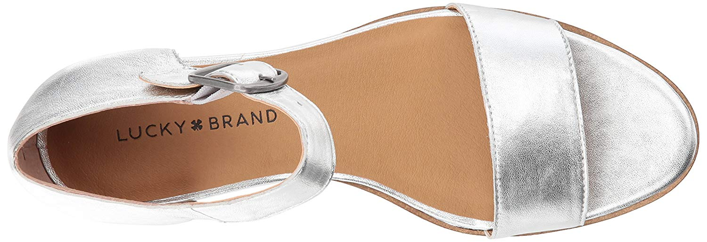 b0fe8ff76c Lucky Brand Women's Riamsee Wedge Sandal | eBay