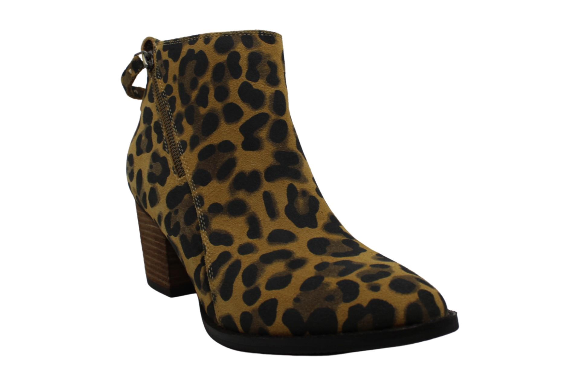 thumbnail 7 - Aqua-College-Womens-Nancy-Leather-Almond-Toe-Ankle-Fashion-Boots
